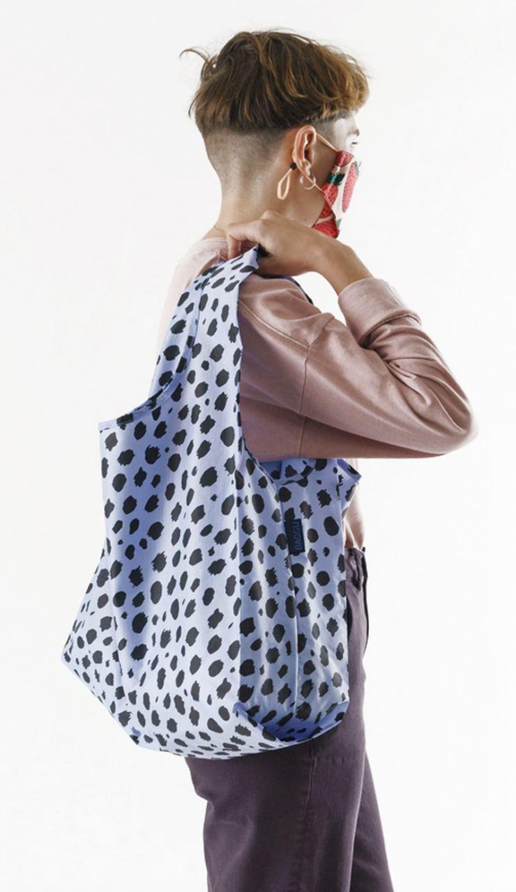 Einkaufsbeutel Blue Cheetah
