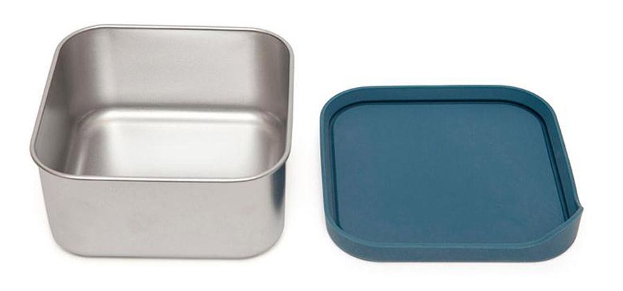 Edelstahl-Lunchbox Lucy Balsam Blue