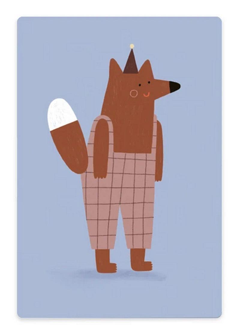Schneidebrett Fox with Trousers
