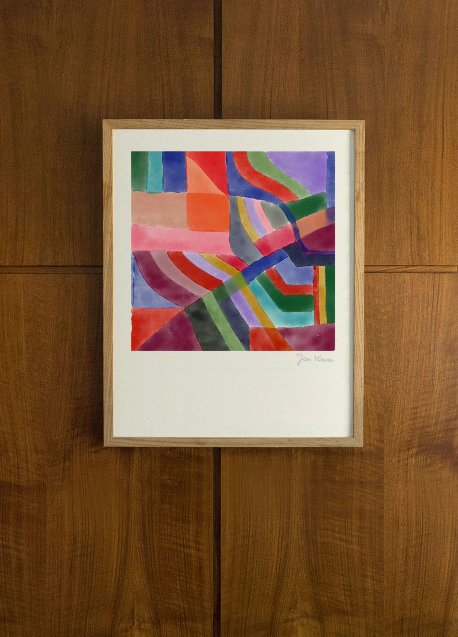 Evening Sun FineArt Print (40 x 40cm)