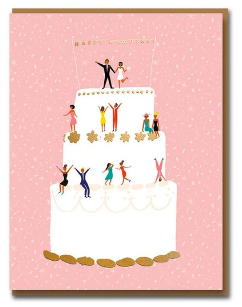 Carolyn Suzuki Wedding Cake Klappkarte