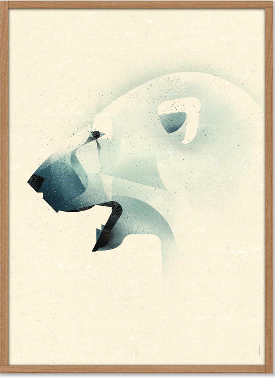 Polar Bear Poster (50 x 70 cm)