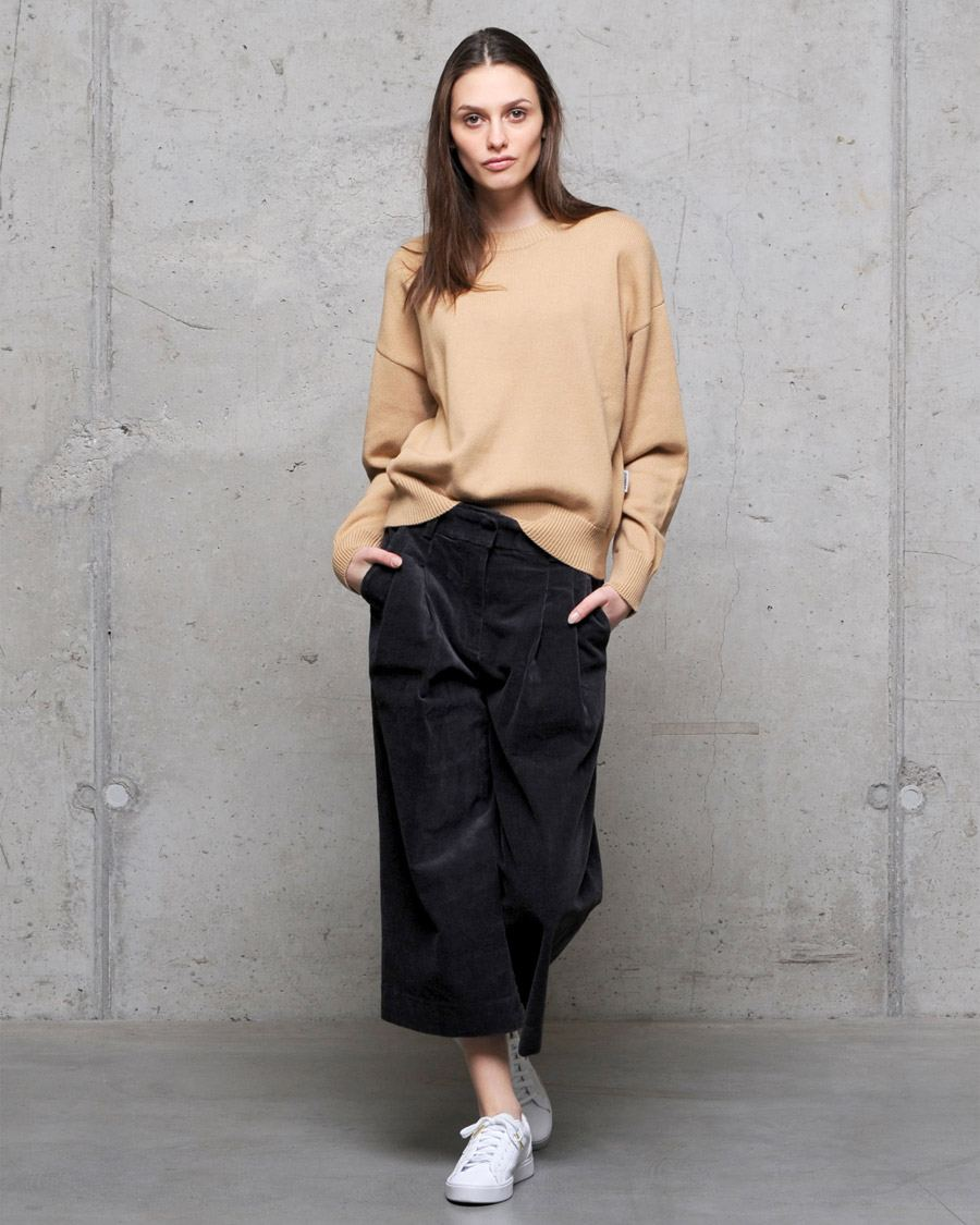Becky Cordhose Charcoal
