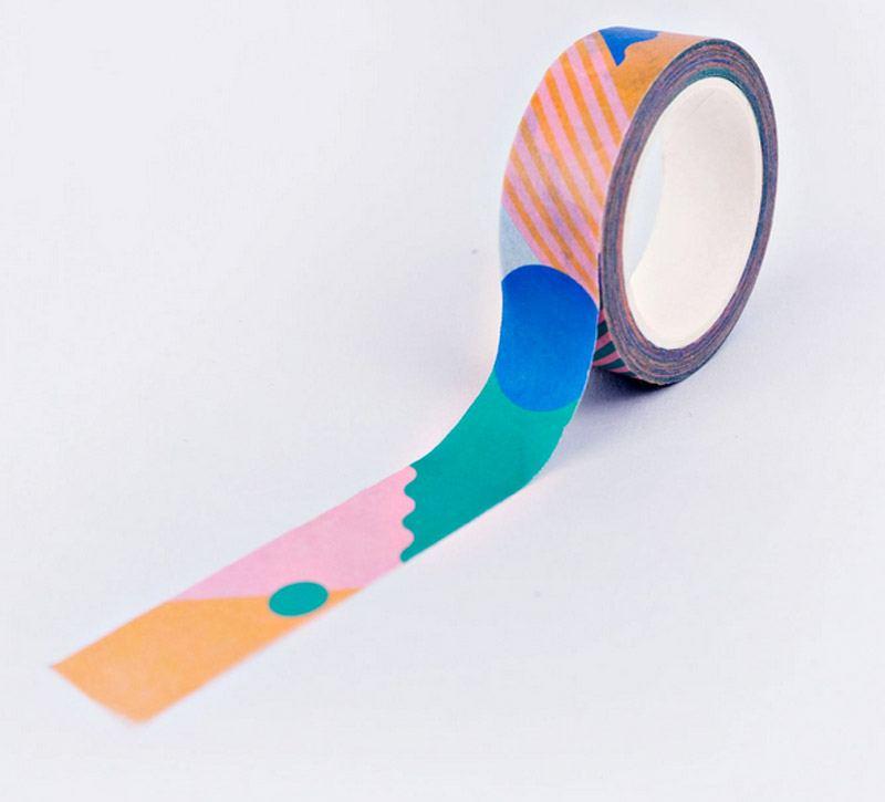 Primary Miami Washi Tape