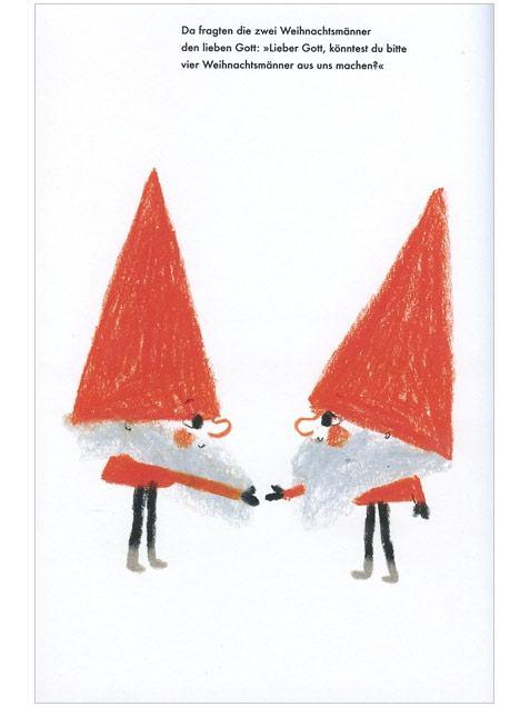 Tausend Millionen Weihnachtsmänner