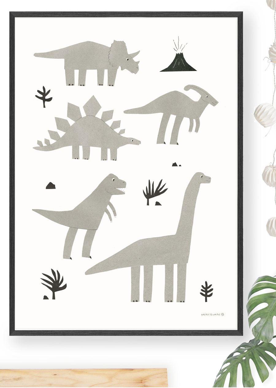 Dinos Poster (50x70cm)