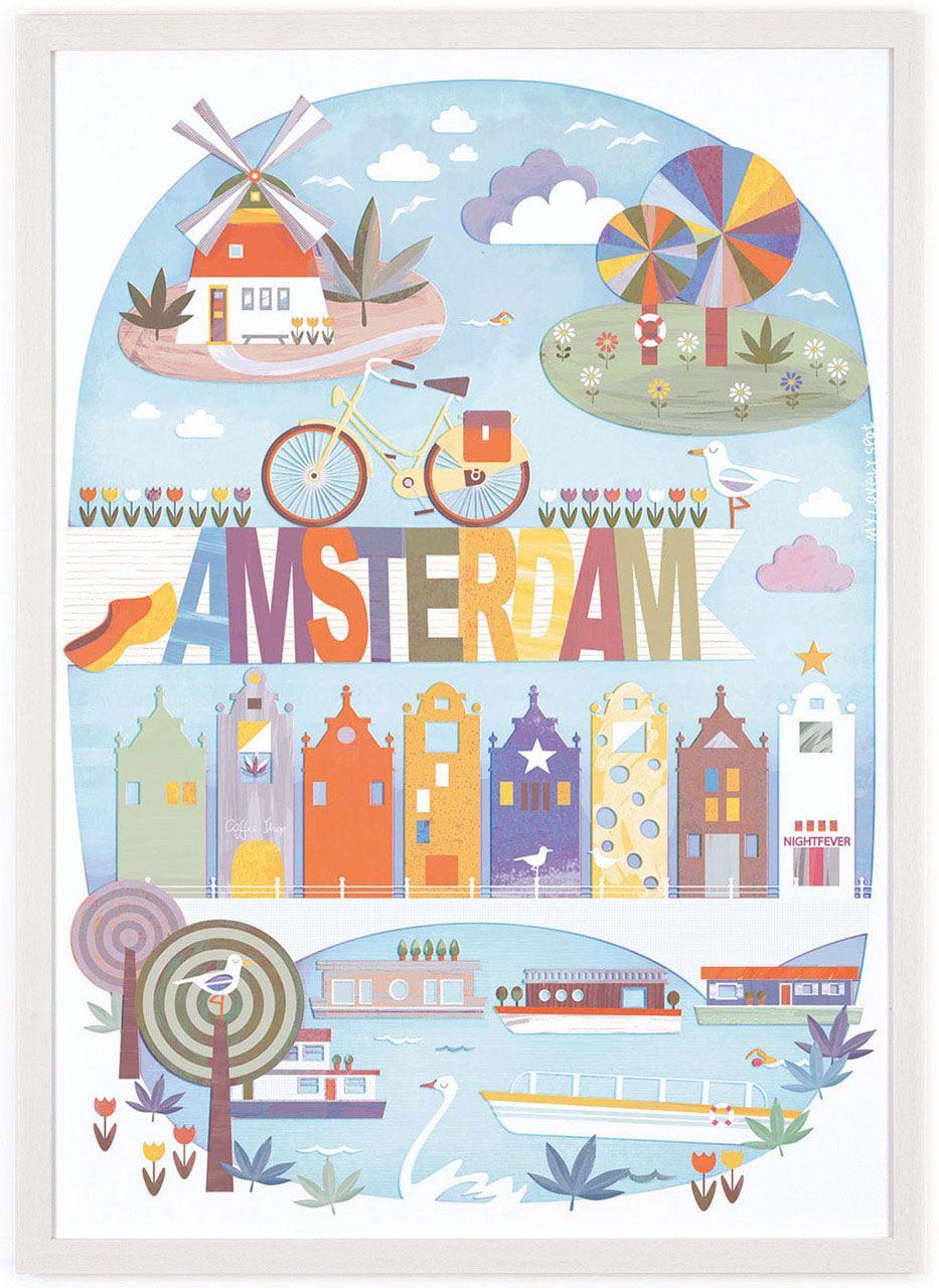 Beautiful Amsterdam (50x70cm)
