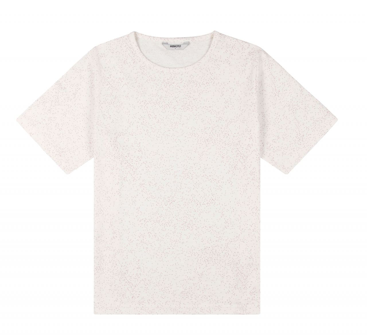 Holden Printed Shirt Off White Red