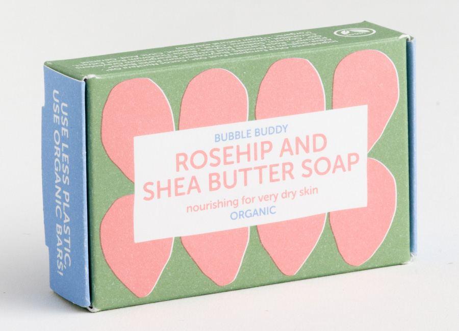 Organic Rosehip Shea Butter Soap