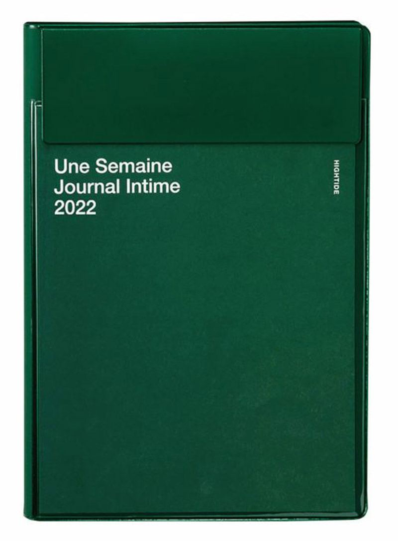 Iris 2022 Diary Green