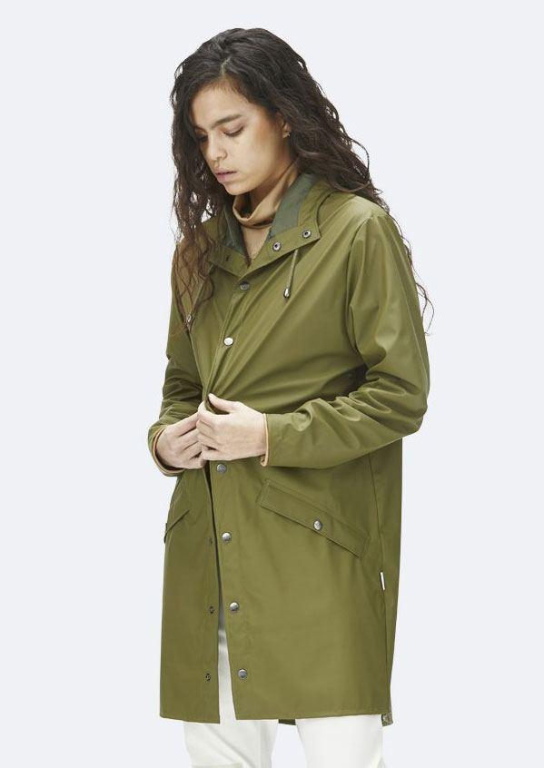 Long Jacket Sage