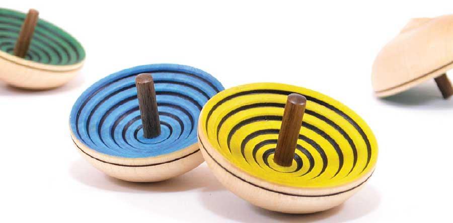 Ufo Kreisel (div. Farben)