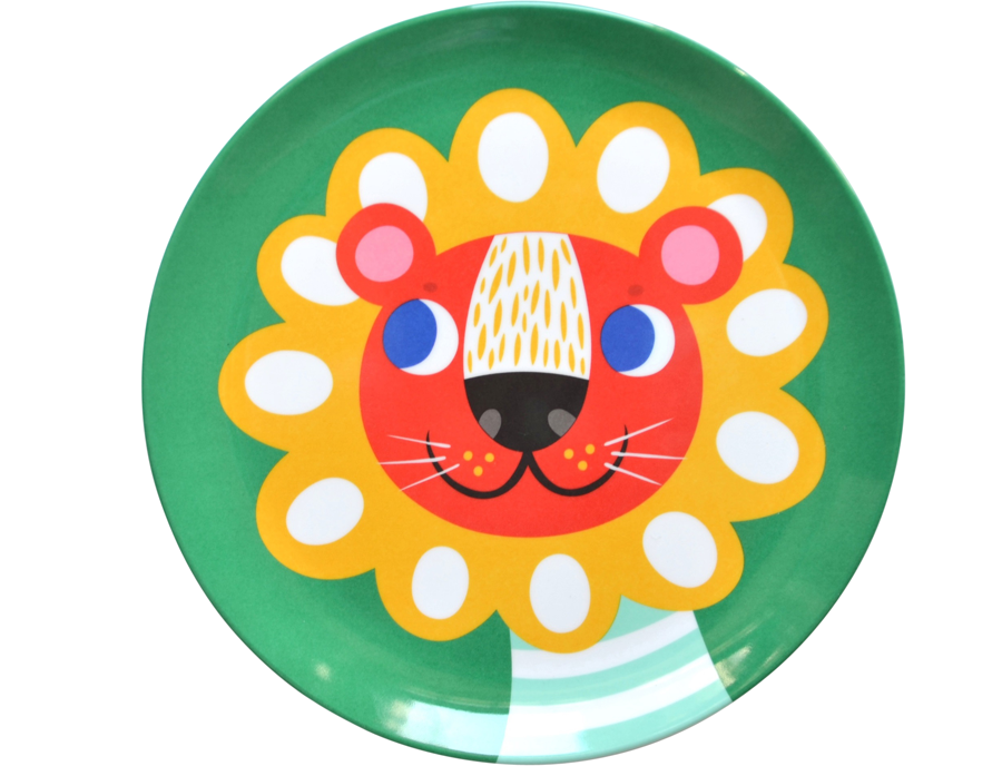 Green Lion Teller (∅ 20cm)
