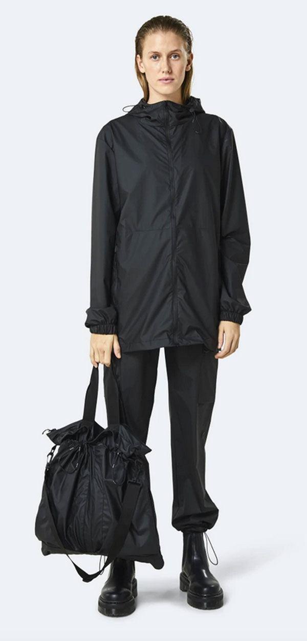 Rains Ultralight Helmet Bag Black