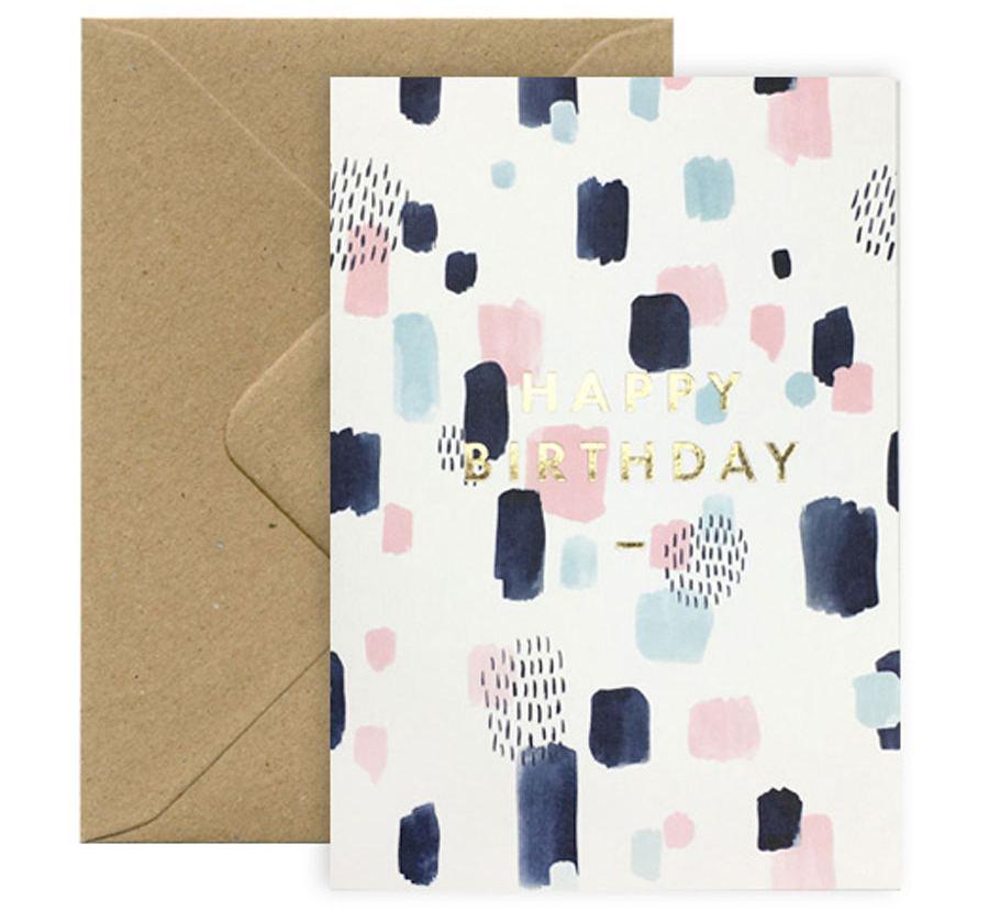Happy Birthday Joy Karte