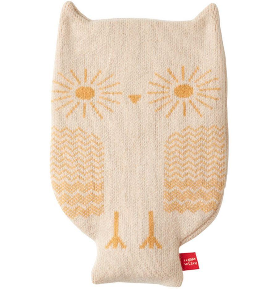 Owl Oatmeal Wärmflasche