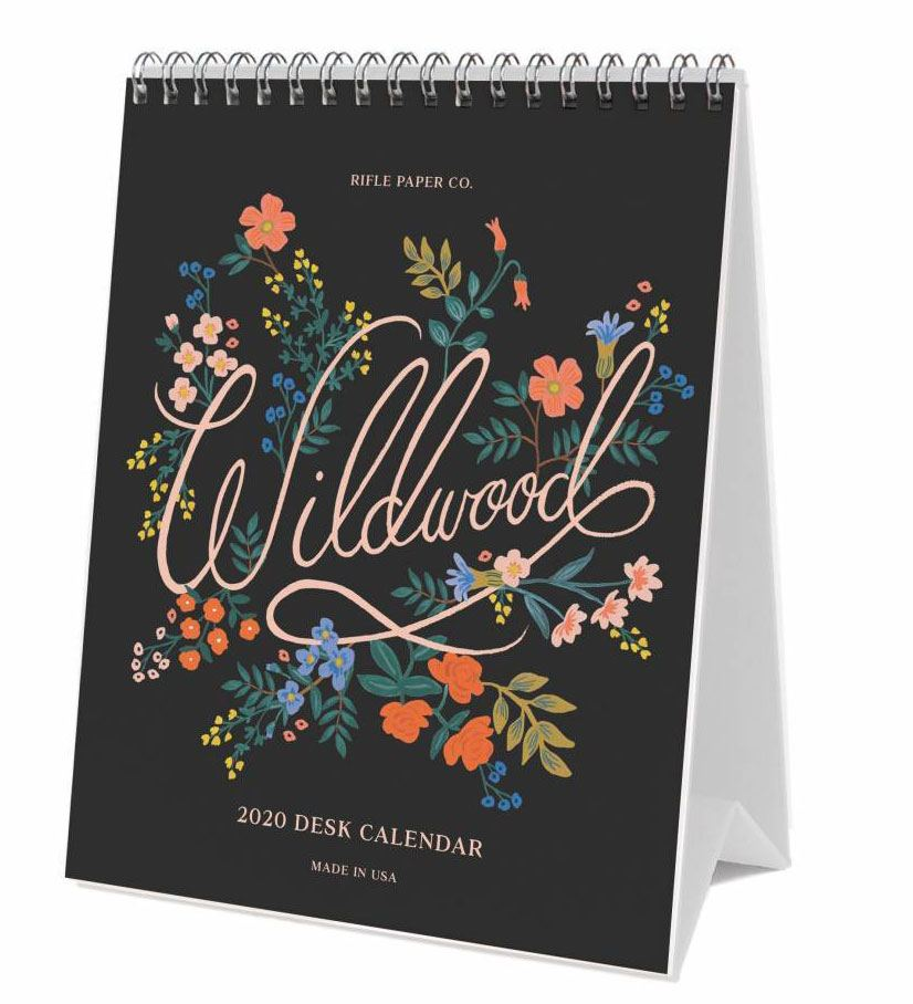 2020 Wildwood Tischkalender