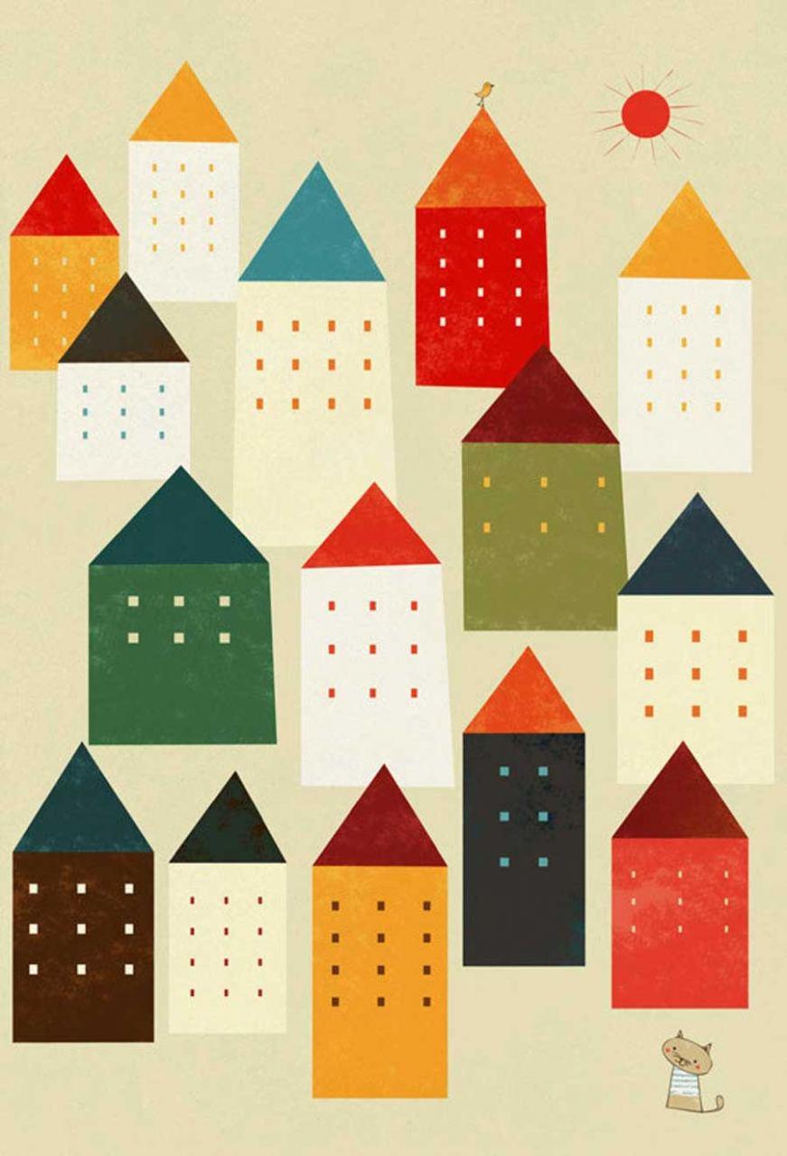 The City Maze (Din A4)