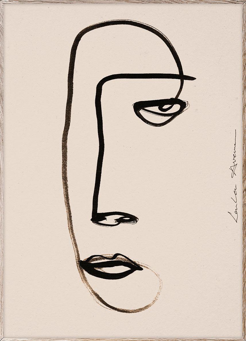 Serious Dreamer Print (30x40cm)