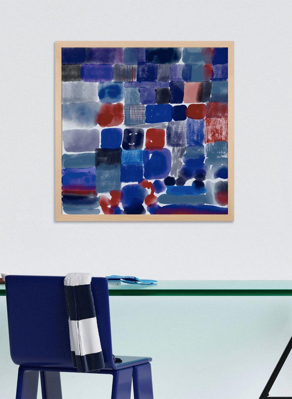 Fineart Print Blue #2