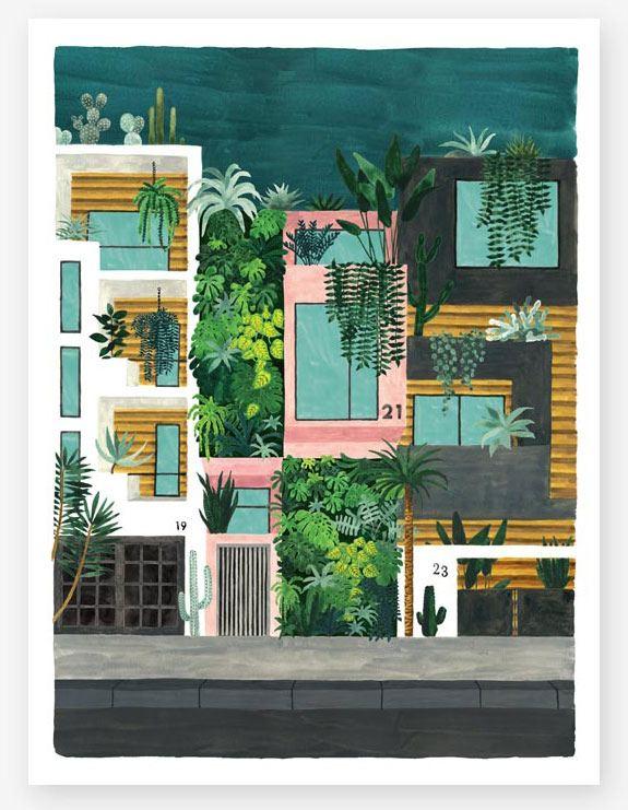 Buildings Print (29,7 x 39,7cm)