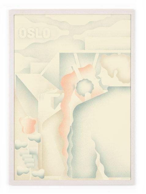 Oslo Poster (50 x 70 cm)