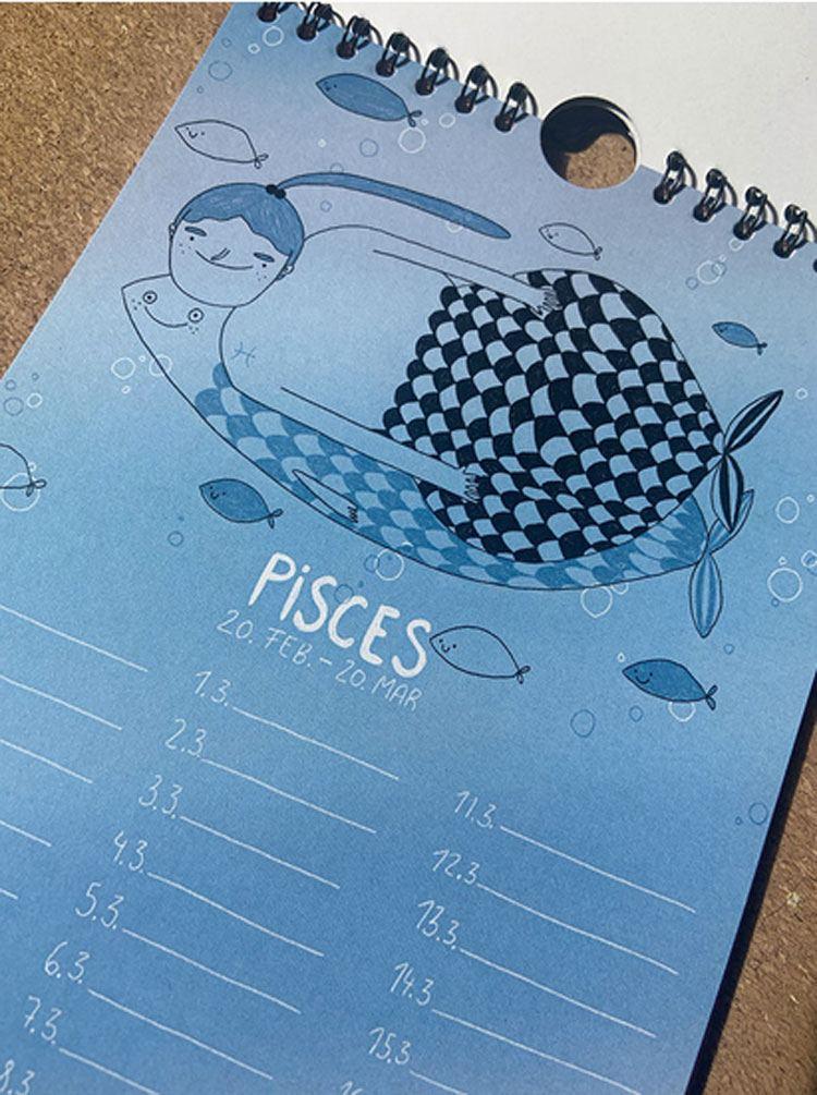 Sternzeichenkalender