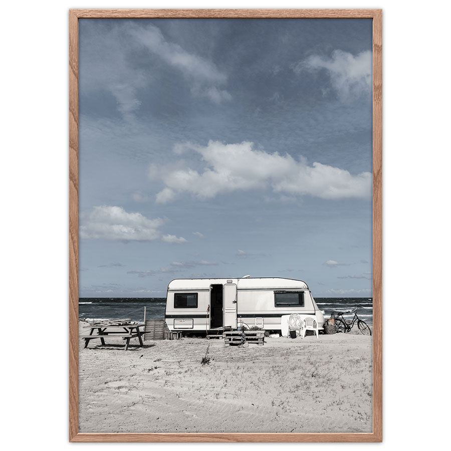 Camping Poster (50 x 70cm)