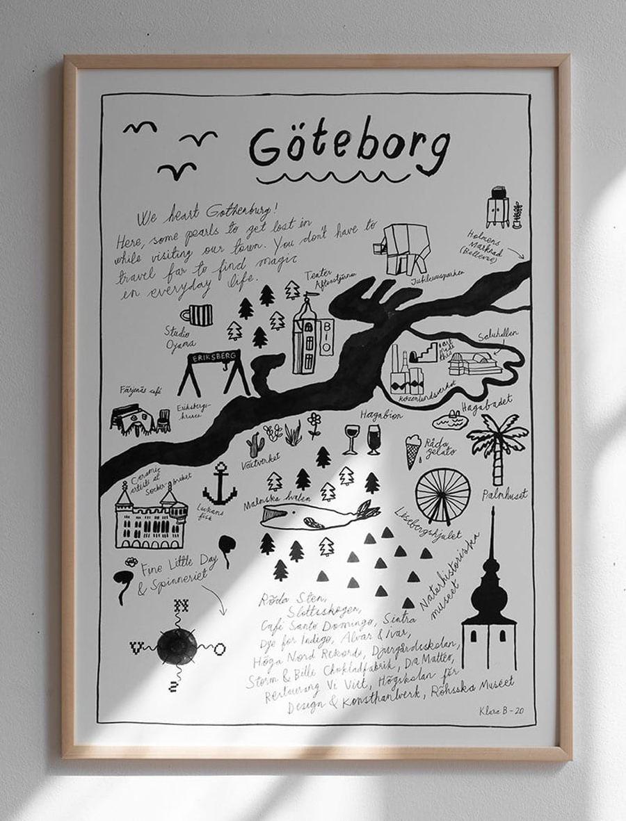 Göteborg Poster (50 x 70cm)