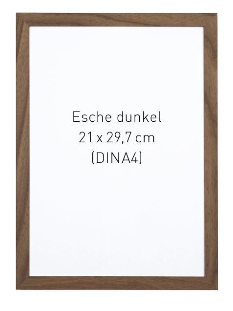 Rahmen Esche Dunkel A4