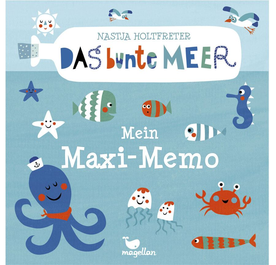 Das bunte Meer Maxi Memo
