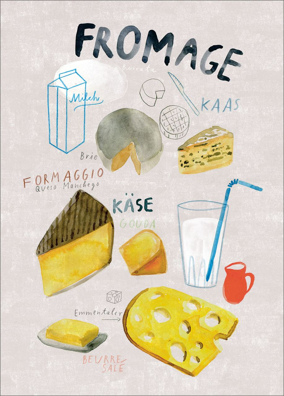 Fromage Print (Din A3)