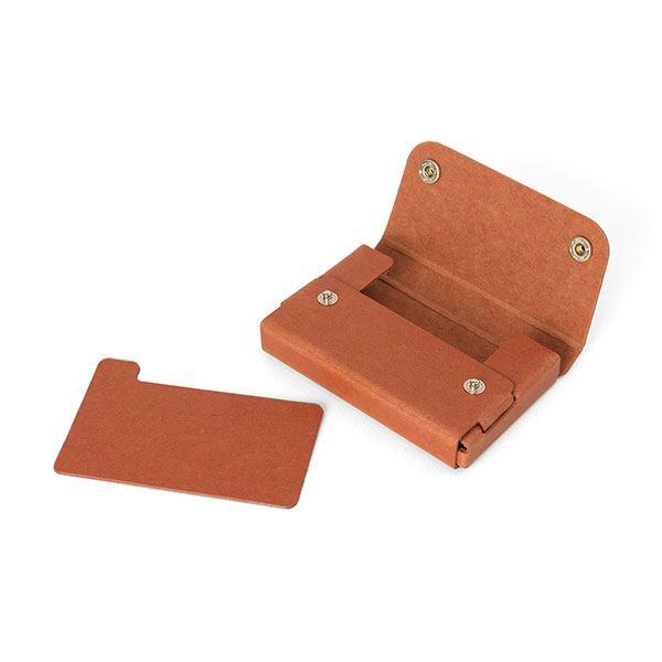 Pasco PULP Card Case Orange Tan
