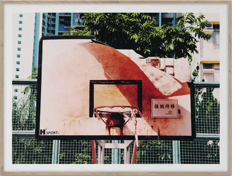 Cities of Basketball (06) Hong Kong Print (30x40xm)