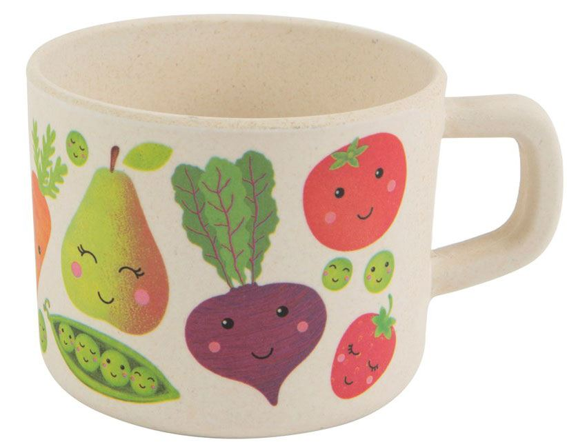 Happy Fruit & Veg Becher