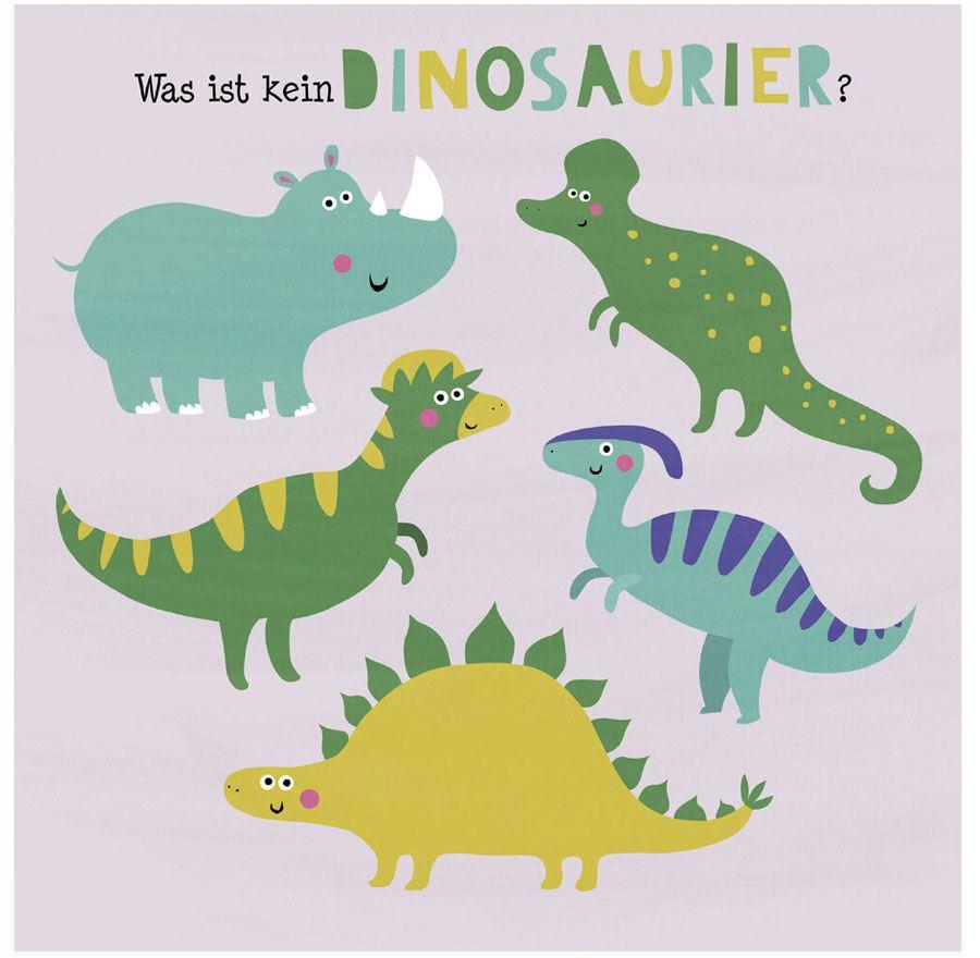 Die bunten Dinos - Wo ist der Unterschied?