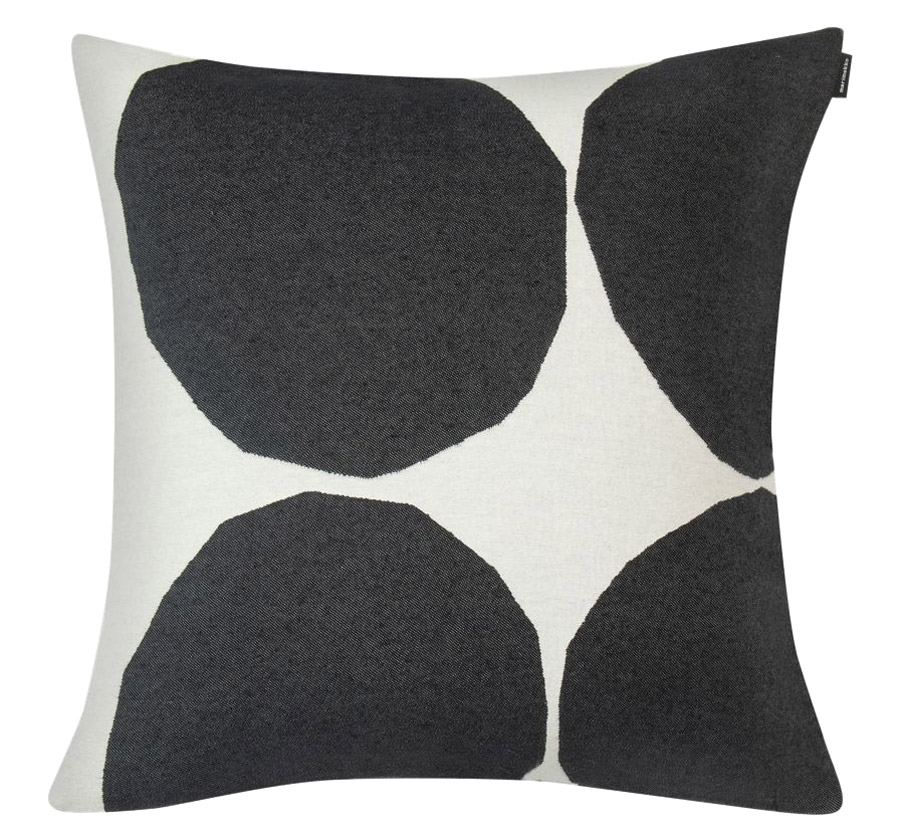 Kivet Kissen Off White Black (50x50cm)