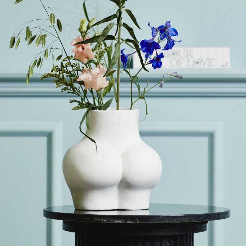 Vase Avaji Lower Body White