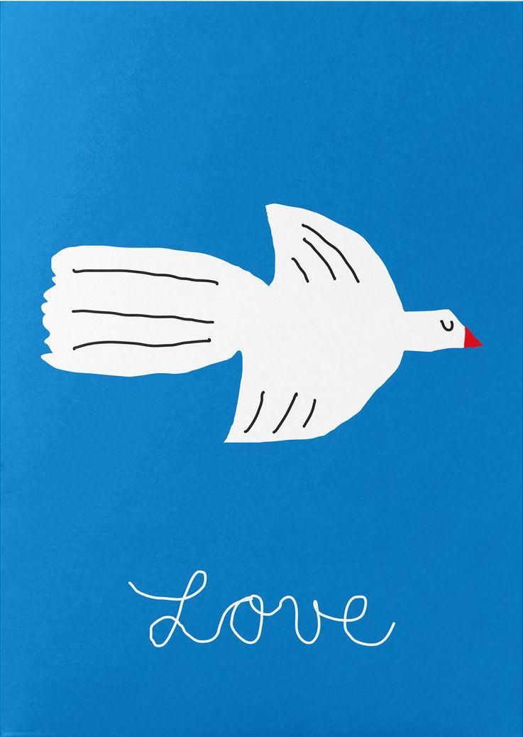 Lovebird Postkarte