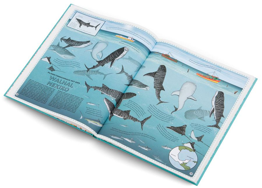 Der Atlas der Ozeane