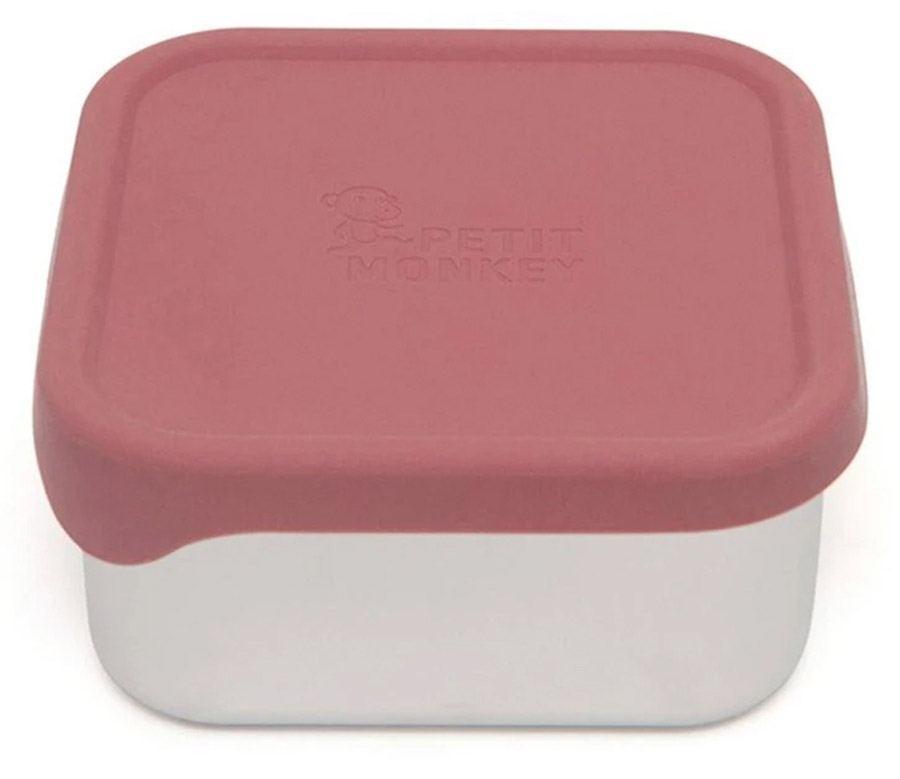Edelstahl-Lunchbox Lucy Mahogany Rose