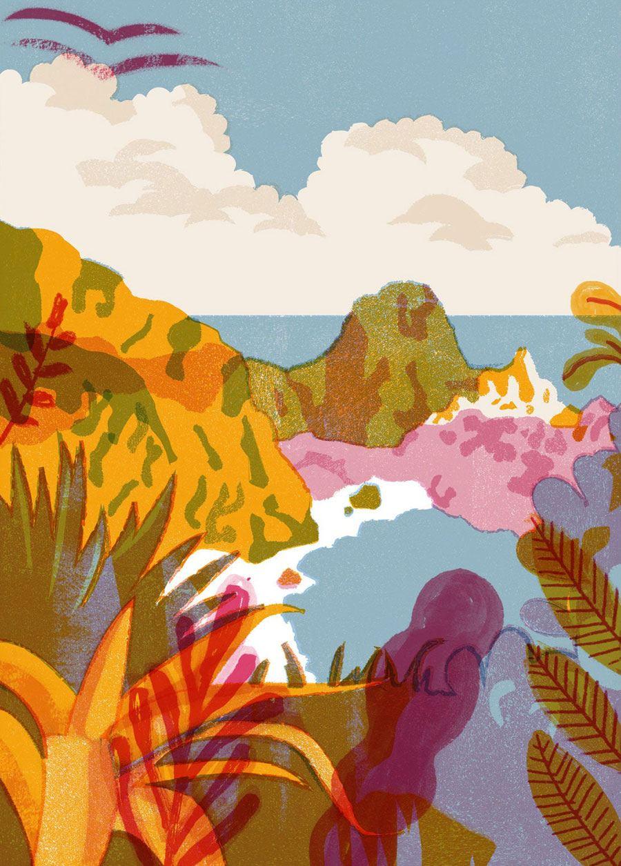 Island Print (Din A3)