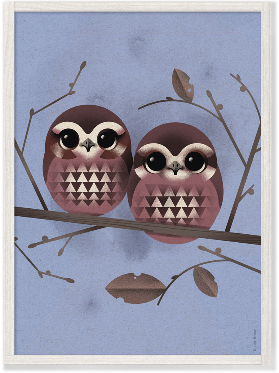 Baby Owls Poster (29,7 x 42cm)