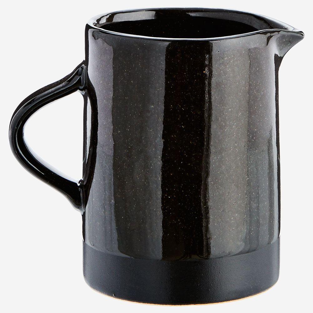 Stoneware Jug Black