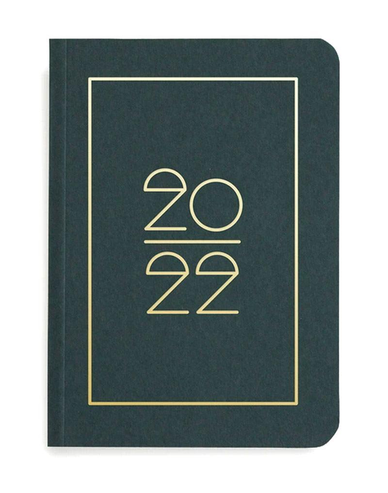 Pocket Planner 2022 Dark Green
