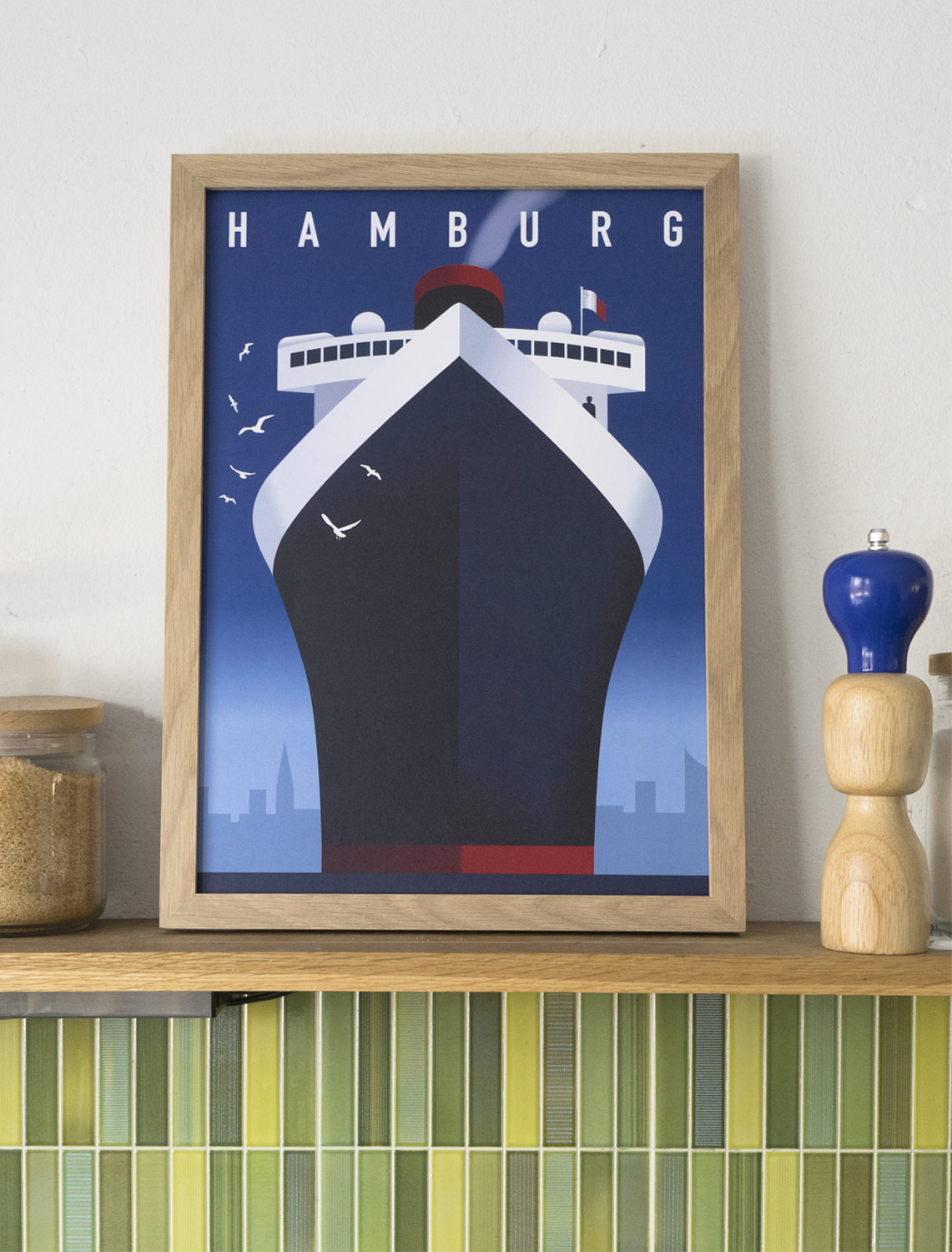 hamburg hafen poster human empire studio human empire shop. Black Bedroom Furniture Sets. Home Design Ideas