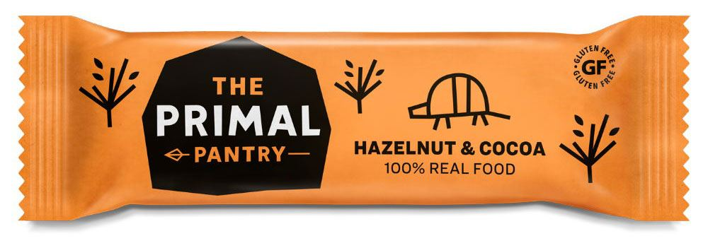 The Primal Pantry - Raw Paleo Bar - Haselnuss & Kakao Riegel