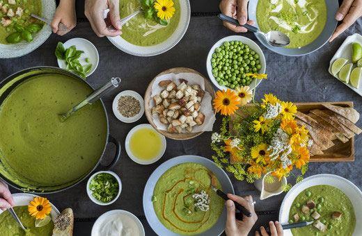 Die grüne Stadtküche