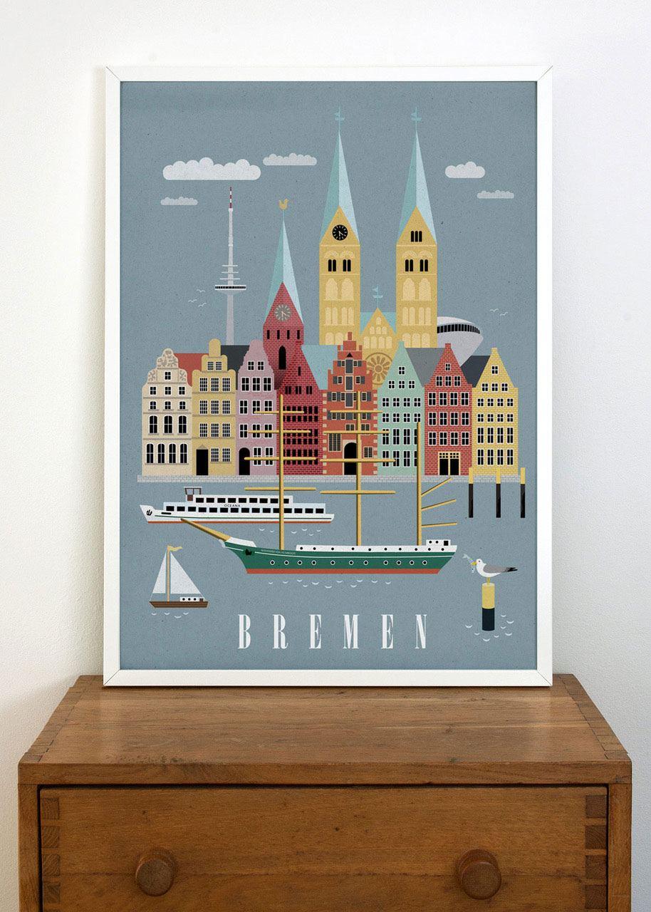 Bremen #2 Poster (50 x 70 cm)