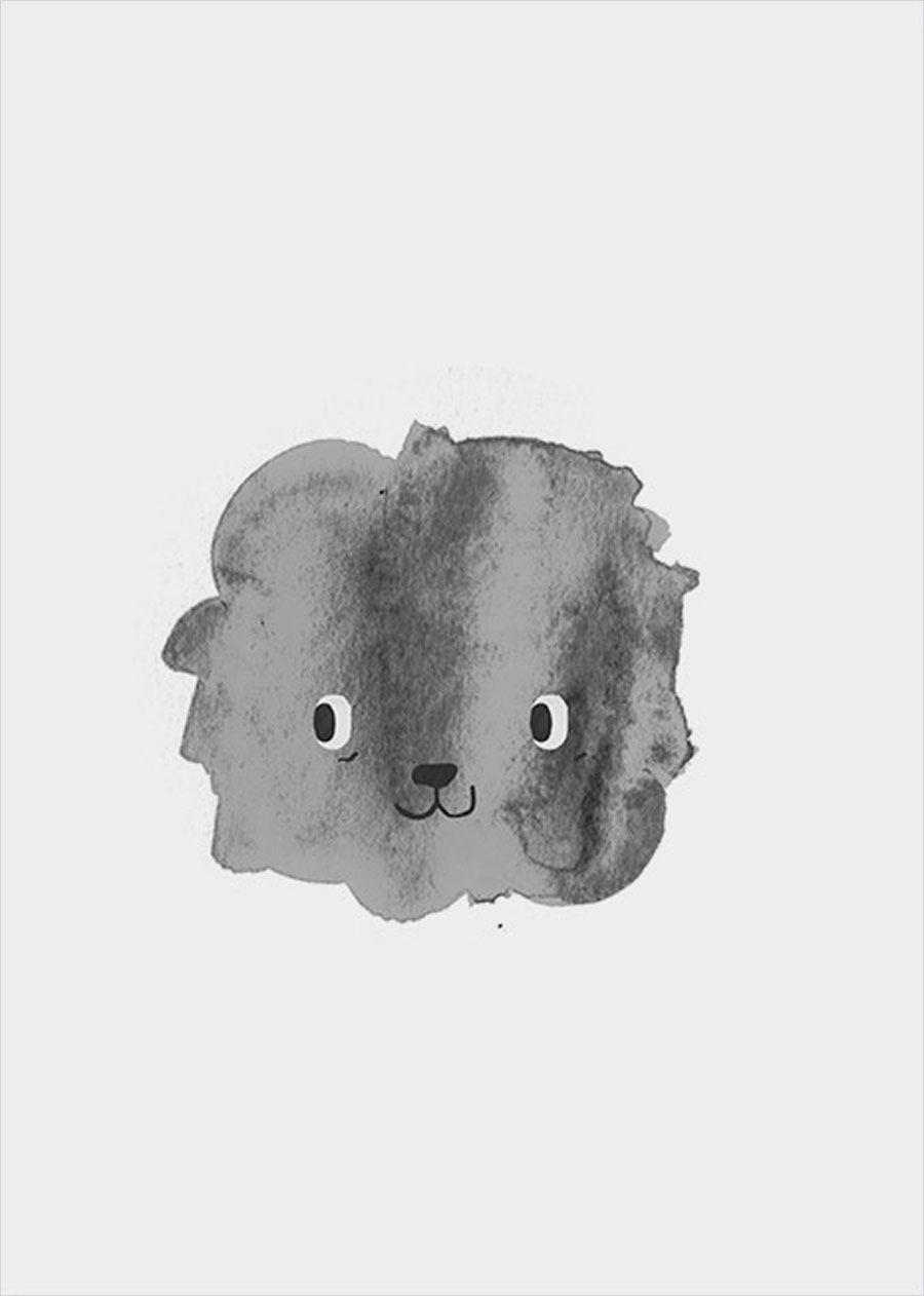 Lio der Löwe Poster (A3)